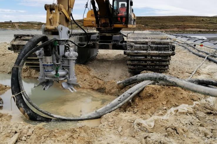 hy85 excavator boom argenteomining
