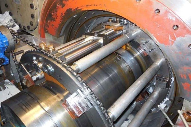 hyrogen sealjournal machining