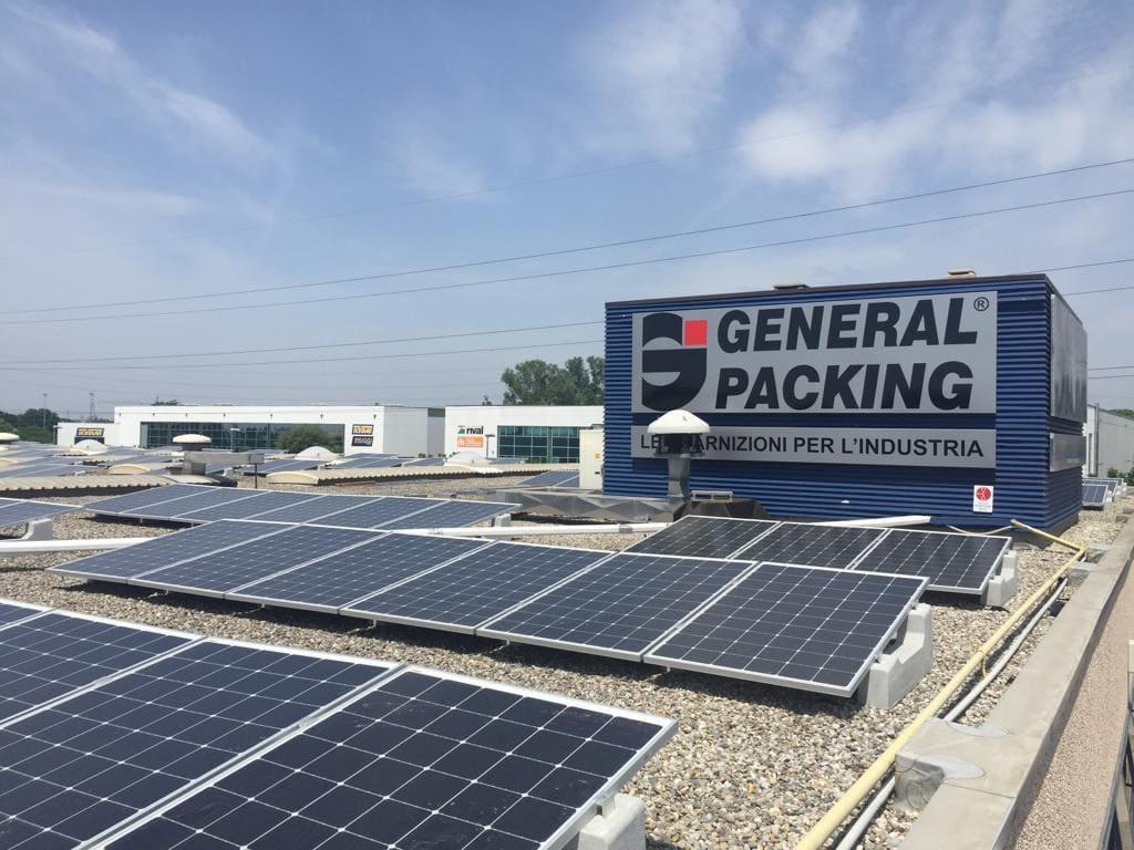 pannelli solari general packing
